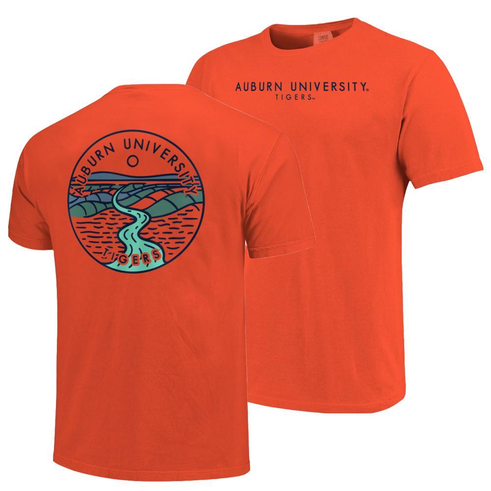 Auburn Comfort Colors Explore T- Shirt