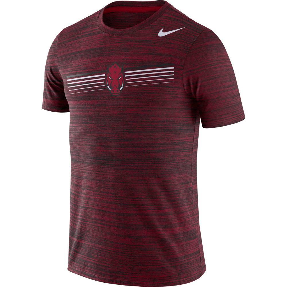 Arkansas Nike Dri- Fit Legend Velocity Tee
