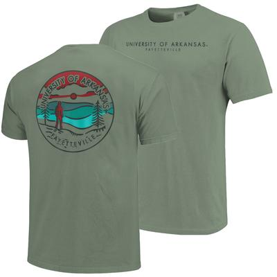 Arkansas Comfort Colors Explore T-Shirt