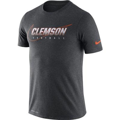 Clemson Nike Dri-FIT Cotton Facility Tee