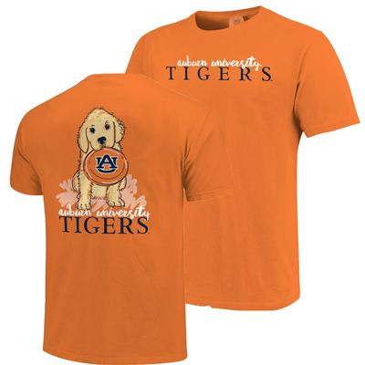 Auburn Frisbee Dog Comfort Colors Tee