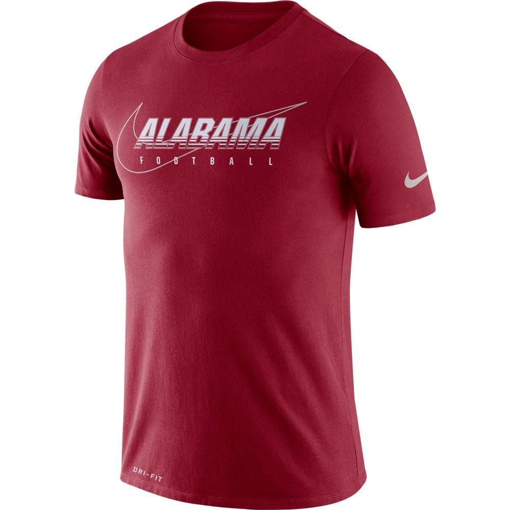 Alabama Nike Dri- Fit Cotton Facility Tee