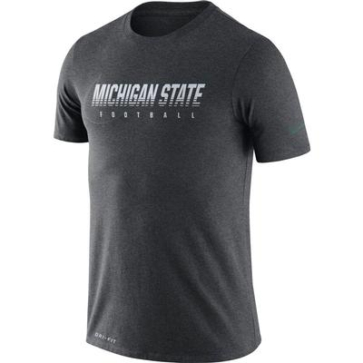 Michigan State Nike Dri-FIT Cotton Facility Tee