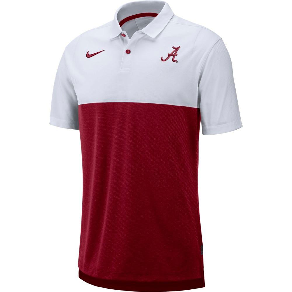 Alabama Nike Breathe Color Block Polo