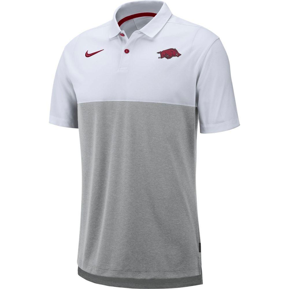 Arkansas Nike Breathe Color Block Polo