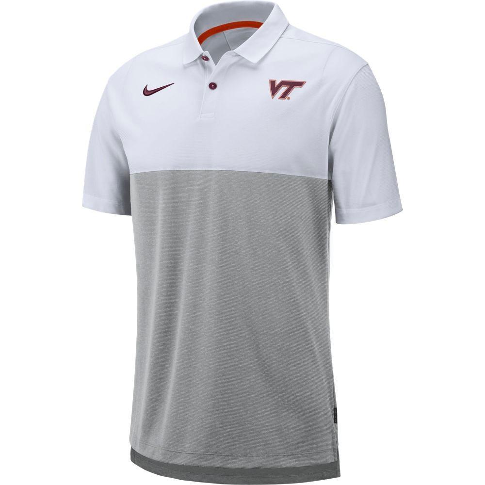 Virginia Tech Nike Breathe Color Block Polo