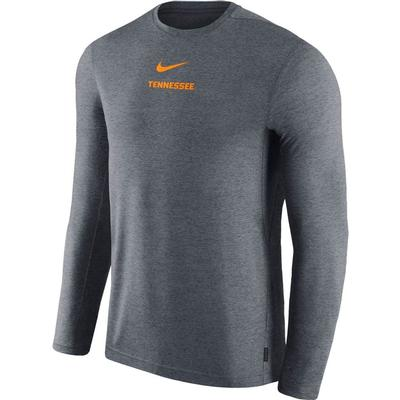 Tennessee Nike Dry Long Sleeve Coaches Tee