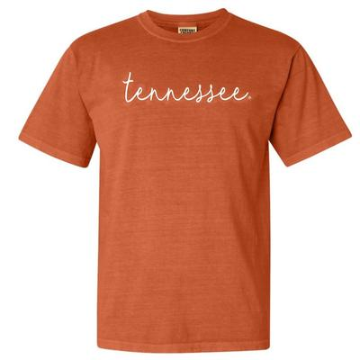 Tennessee Comfort Colors Simple Script Tee
