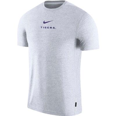 LSU Nike Dry Short Sleeve Coaches Tee