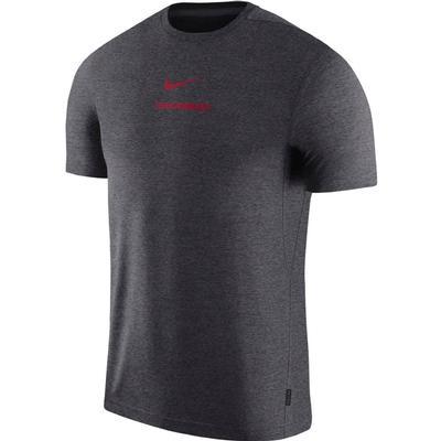 Arkansas Nike Dry Short Sleeve Coaches Tee