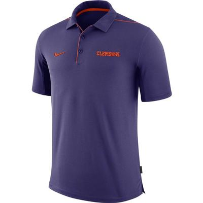 Clemson Nike Dri-FIT Team Issue Polo