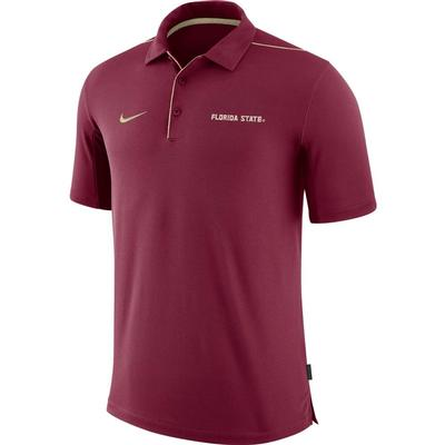 Florida State Nike Dri-FIT Team Issue Polo