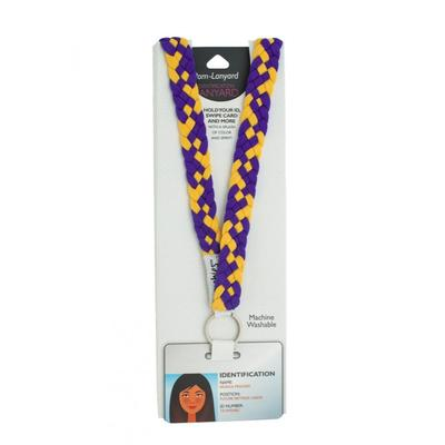 Pomchies Purple and Gold Lanyard