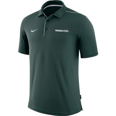 Michigan State Nike Dri-FIT Team Issue Polo