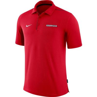 Georgia Nike Dri-FIT Team Issue Polo