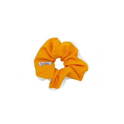 Pomchies Orange and White Hair Scrunchie