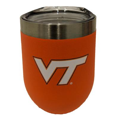 Virginia Tech Gametime Sidekicks 12 Oz. Stainless Steel Stemless Tumbler