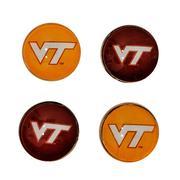Virginia Tech Legacy Fridge Magnets 4 Pack