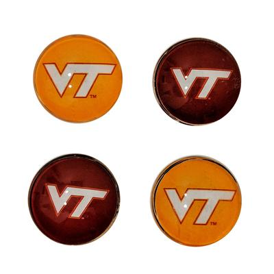 Virginia Tech Legacy Fridge Magnets 4 pack