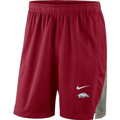 Arkansas Nike Franchise Shorts CRIMSON