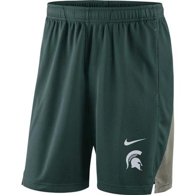 Michigan State Nike Franchise Shorts