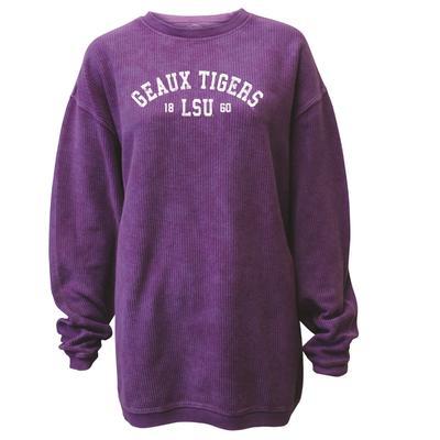 LSU Women's Double Arch Corded Sweatshirt