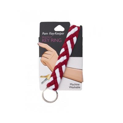 Pomchie Crimson and White Key Keeper