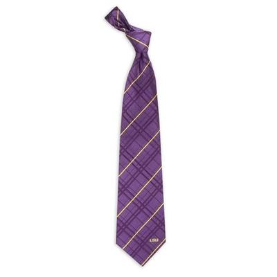 LSU Men's Oxford Woven Tie
