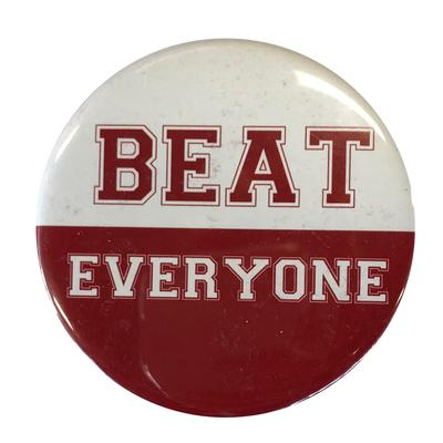 Cardinal & White Beat Everyone Button