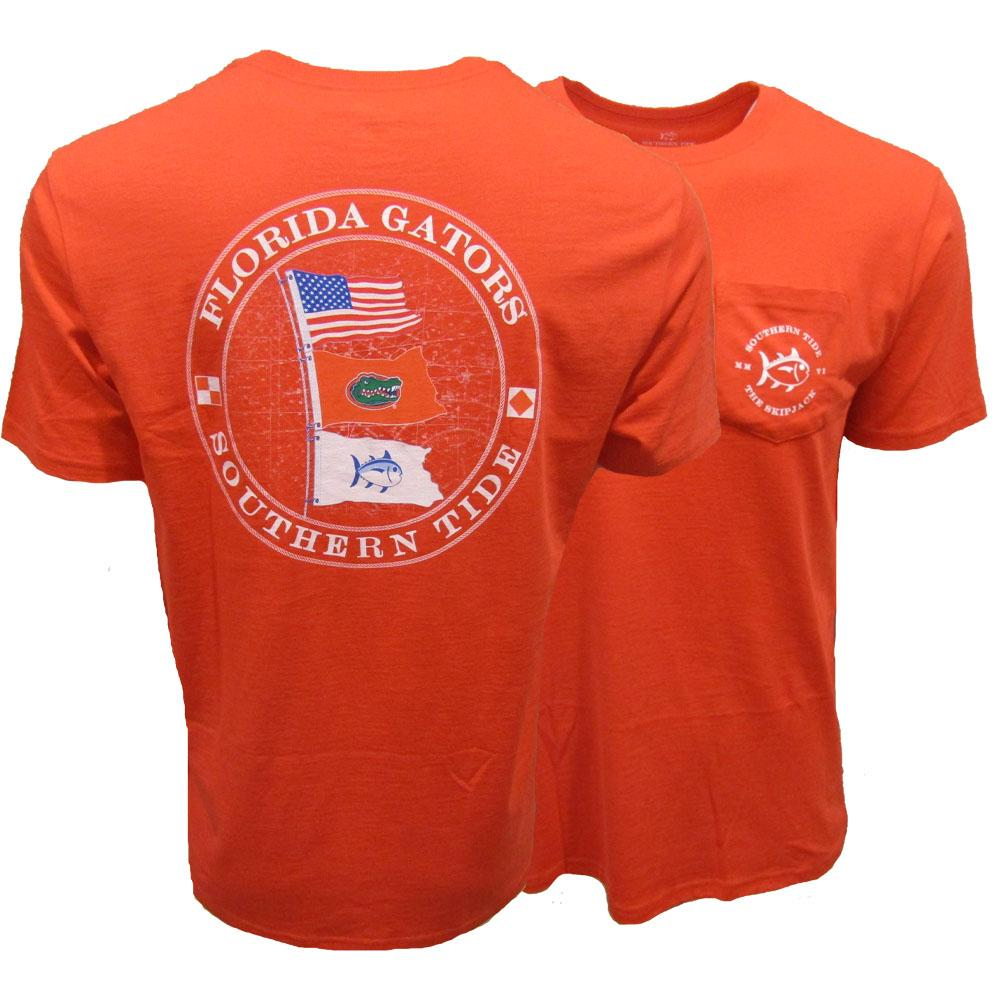 Florida Southern Tide Gameday Nautical Flags S/S Tee