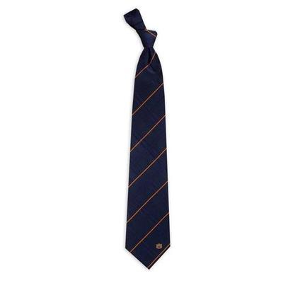 Auburn Oxford Woven Tie