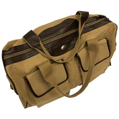 Alabama Waxed Canvas Weekender Bag
