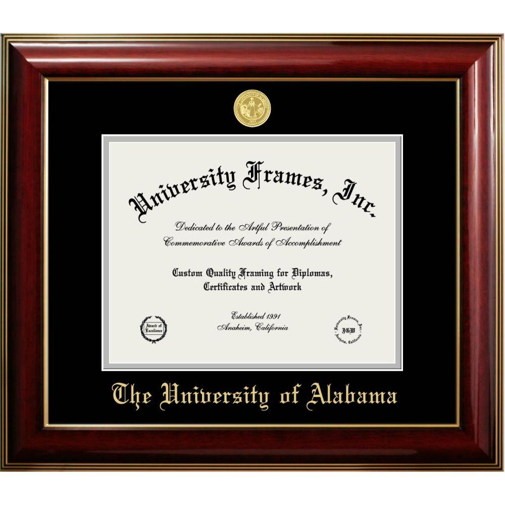 Alabama Classic Diploma Frame