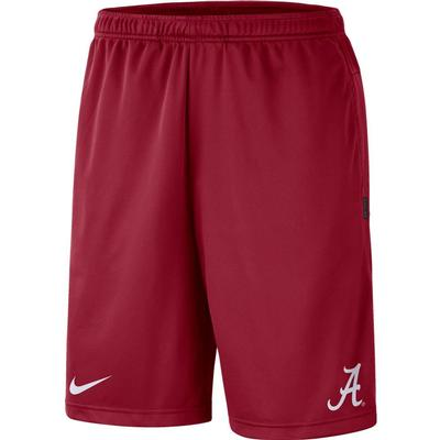 Alabama Nike Knit Dri-FIT Coaches Shorts