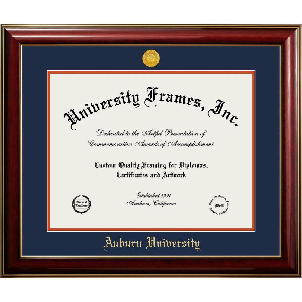 Auburn Classic Diploma Frame