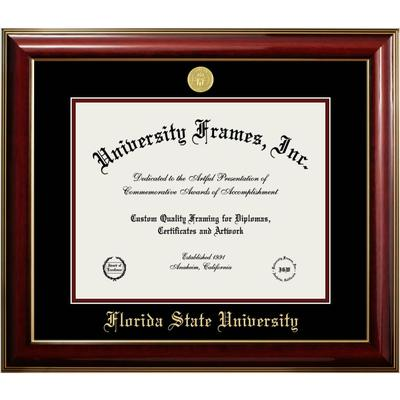 Florida State Classic Diploma Frame