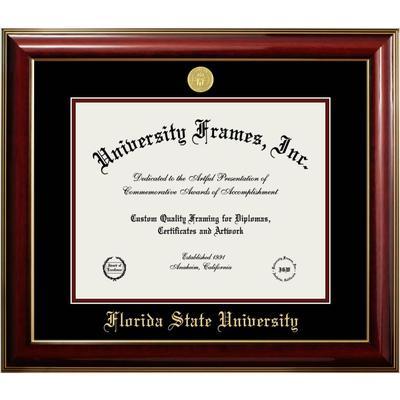 Florida State Classic Diploma Frame