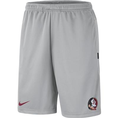 Florida State Nike Knit Dri-FIT Coaches Shorts