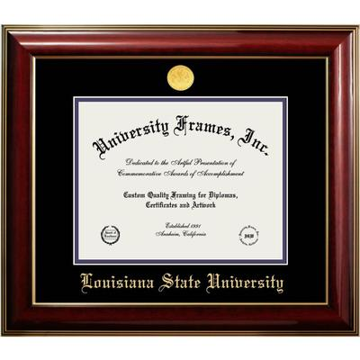 LSU Classic Diploma Frame