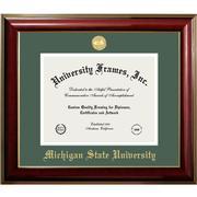 Michigan State Classic Diploma Frame