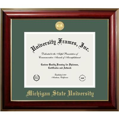 Michigan State Classic Diploma Frame