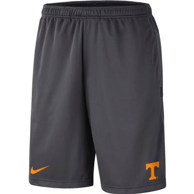 Tennessee Nike Knit Dri-FIT Coaches Shorts