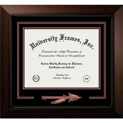 Florida State Legacy Logo Diploma Frame