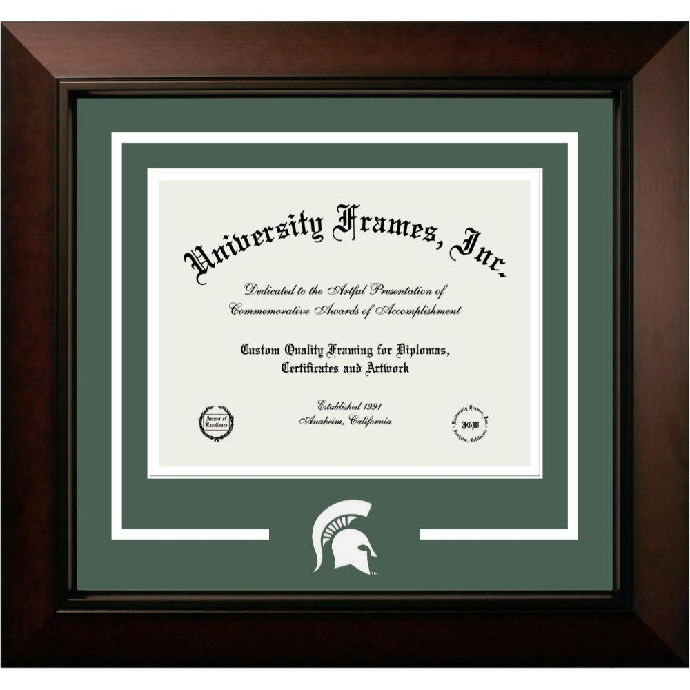 Michigan State Legacy Logo Diploma Frame
