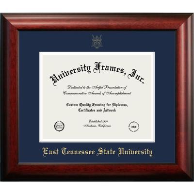 ETSU Mahogany Diploma Frame
