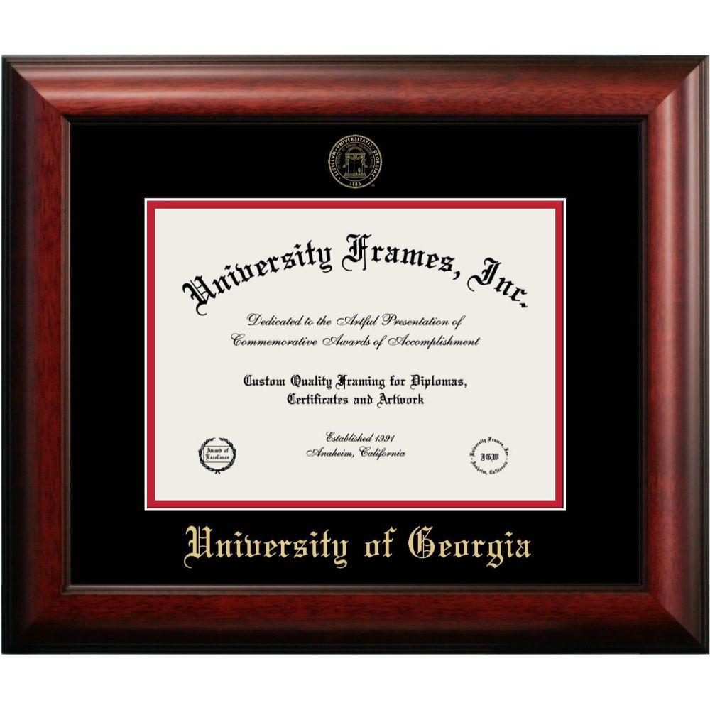 Georgia Mahogany Diploma Frame