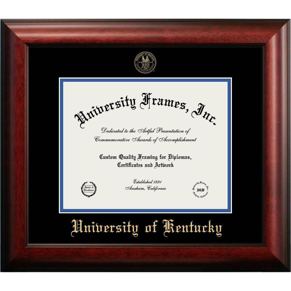 Kentucky Mahogany Diploma Frame