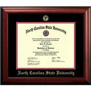 Nc State Mahogany Diploma Frame