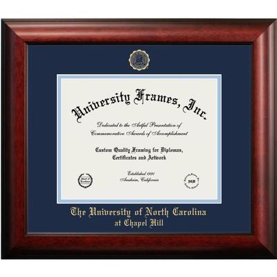UNC Mahogany Diploma Frame