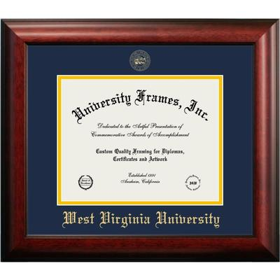 West Virginia Mahogany Diploma Frame